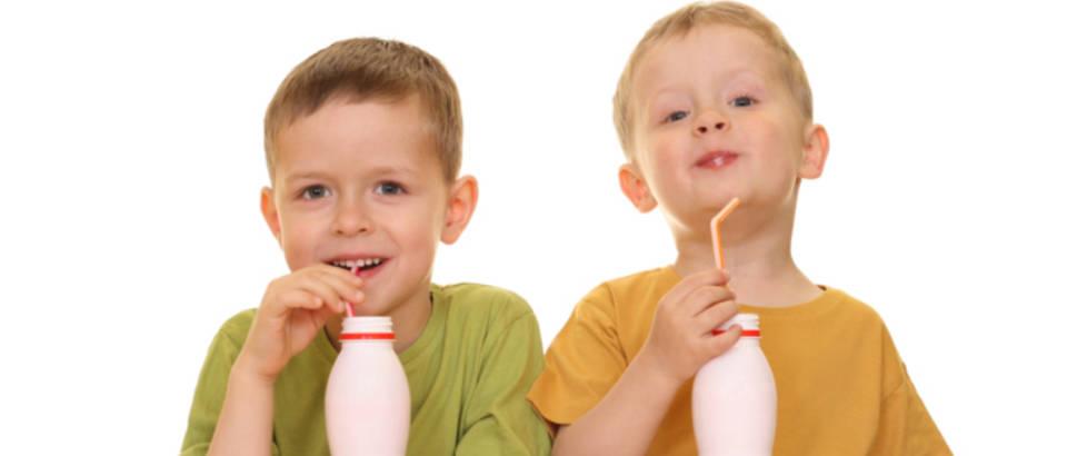 jogurt, djeca, dijete, dijete jede