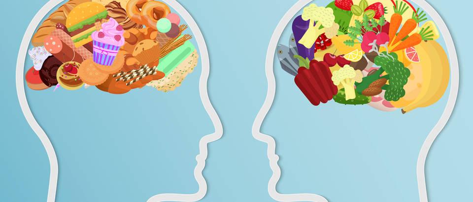 Mozak hrana shutterstock