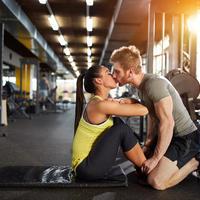 vjezbanje, par, Shutterstock 571976113