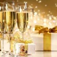 sampanjac, nova godina, poklon