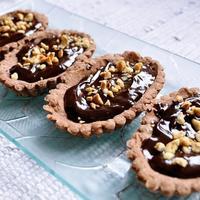 ana surac, duplo cokoladni tart
