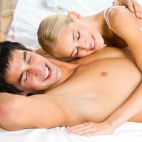 seks, par, spavaca soba, krevet