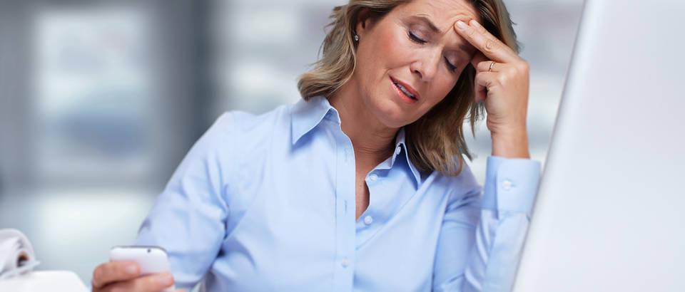 Glavobolja posao kronična bol shutterstock 249329722