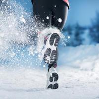 Trčanje trening vježbanje zima shutterstock