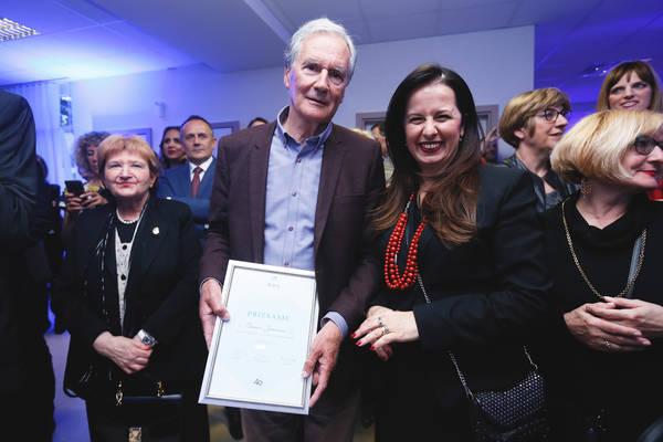 Mr.sc.dr.med. Damir Jurinović i Irena Weber, zamjenica gl. izvršnog direktora Fortenova grupacije