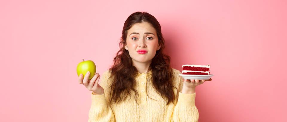 žena, hrana, odluka