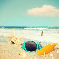 plaza, krema za suncanje, Shutterstock 273056030