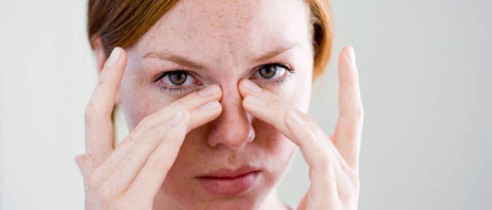 Sinusi, prehlada, nos, alergija