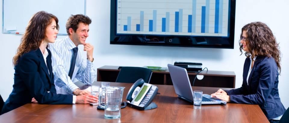 poslovni sastanak, posao