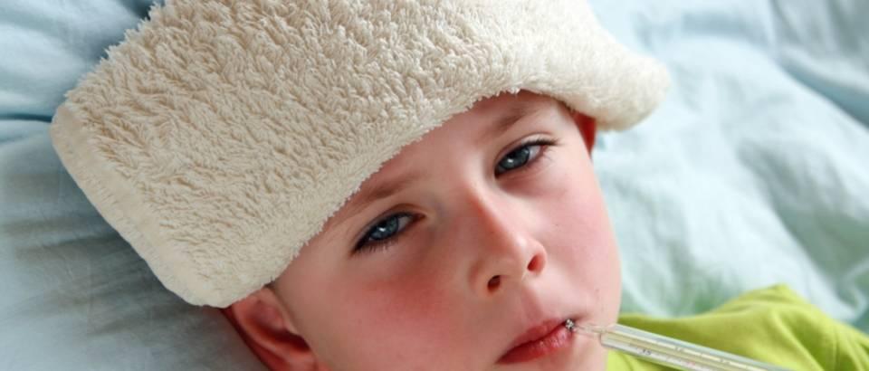 Dijete, bolest, prehlada, gripa