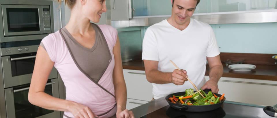 Kuhanje, par, zdrava hrana