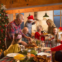 obitelj na bozic, Shutterstock 455965297