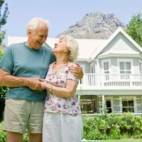 umirovljenici, stariji par