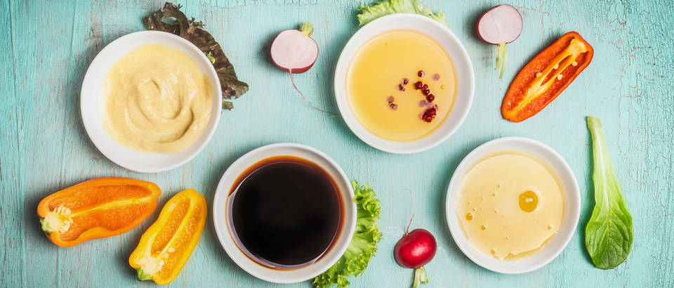 preljevi za salate, Shutterstock 563526058