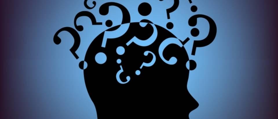 pitanje, pamcenje, upitnik