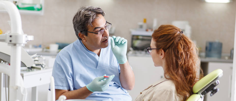 Stomatolog i pacijent