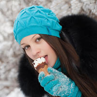 Sladoled zima shutterstock