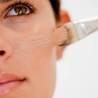 korektor, puder, lice, sminka, makeup