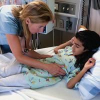 dijete, djevojcia, bolnica, pregled