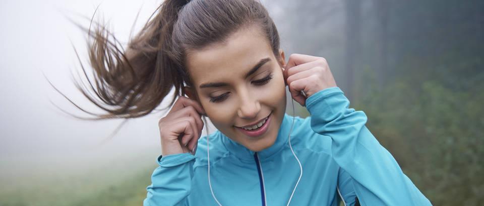 Glazba trening vježbanje shutterstock