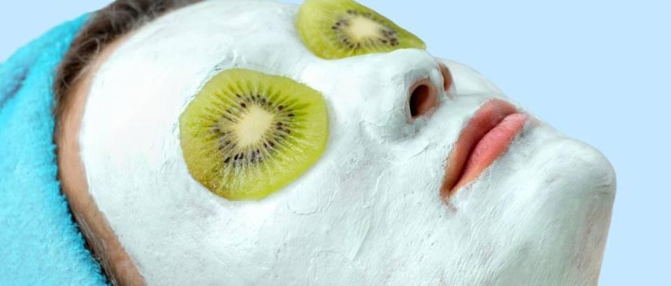 maska za lice kivi