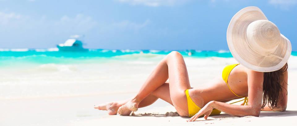 sunce, koza, plaza, Shutterstock 245229259