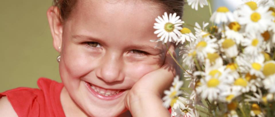 Dijete, alergija, cvijece
