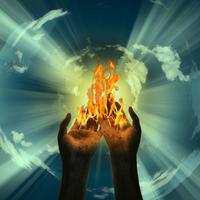 ruke, nebo, energija, zivot
