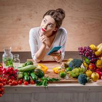 Kalorije žena zdrava hrana shutterstock