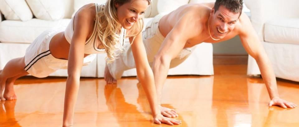 vjezbanje, sklekovi, par vjezba, trening, fitness