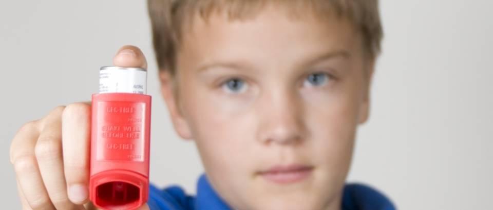 Astma, dijete