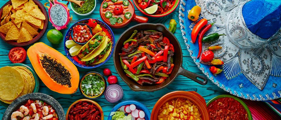 meksicka hrana, Shutterstock 395007781