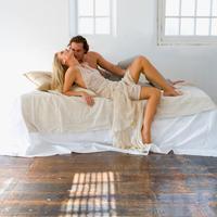 seks, par, krevet