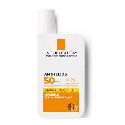 1.La Roche Posay Sunscreen Anthelios Shaka Fluid Spf50  50ml Front Soft