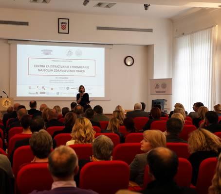 Predstavljanje Centra za istraživanje i promicanje najboljih zdravstvenih praksi