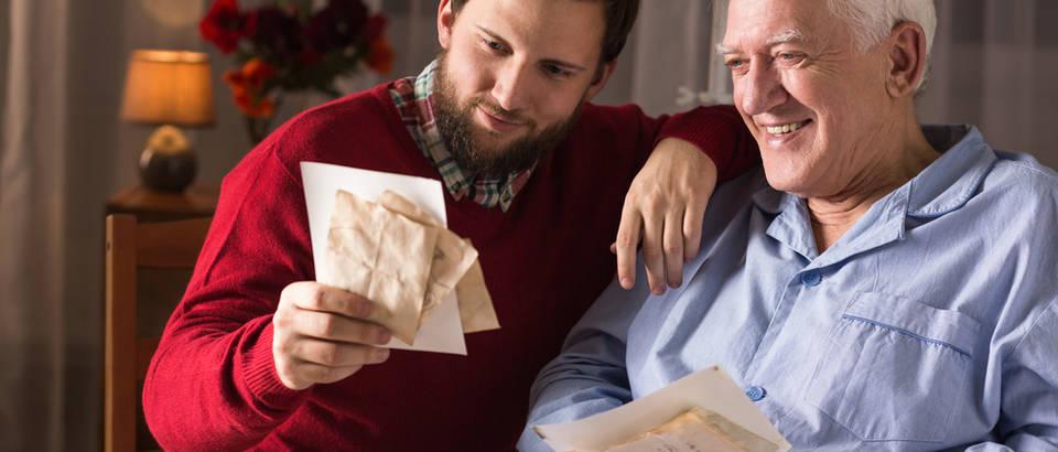 Demencija otac i sin shutterstock 349023914