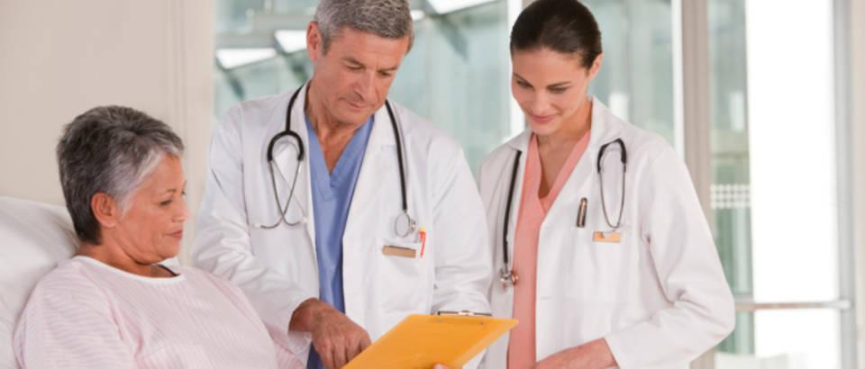 bolnica, pregled, lijecnik