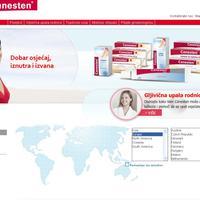 Canesten (web stranica)
