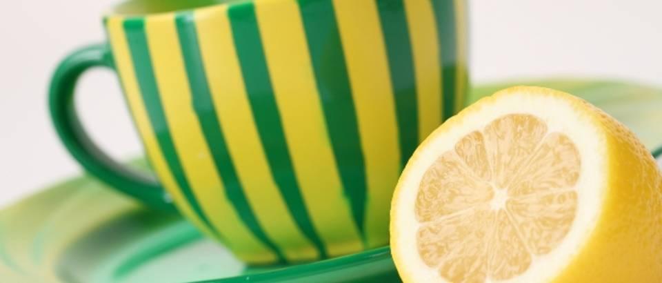 caj, limun, prehlada