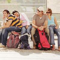 backpackeri, turisti, putovanje