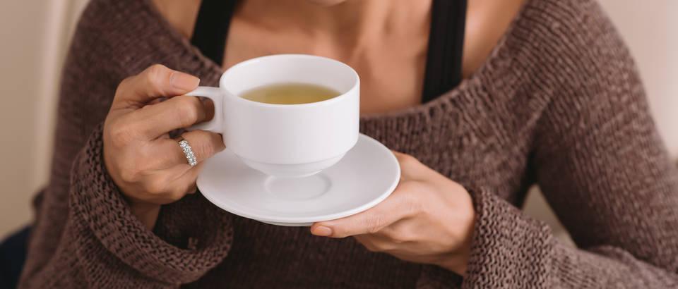 čaj, žena