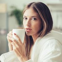 utjecaj kave na kozu lica, jutarnja kava