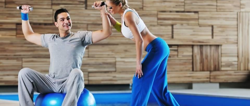 vjezbanje, fitness, teretana, utezi, bucice