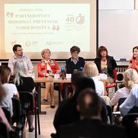 Okrugli stol, Partnerstvo s medijima u prevenciji suicida, Gordana Vilović, Ivana Pradžiković