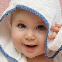 beba, kupanje, rucnik