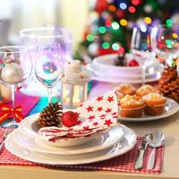 Blagdanski stol kuhinja božićshutterstock 353299526