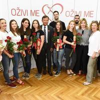 Studenti udruge StEPP, Davor Miličić, Ivana Portolan Pajić i Ana Ljubas