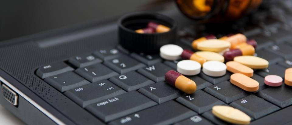 lazni lijekovi, internet