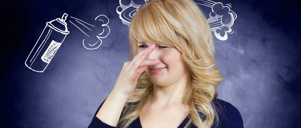 Žena, smrad, smrdljivo, Shutterstock 183248486