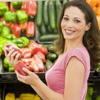 povrce, supermarket, paprika